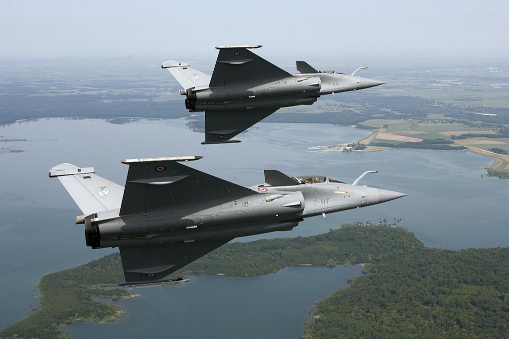 Rafale - elemento - foto Força Aérea Francesa