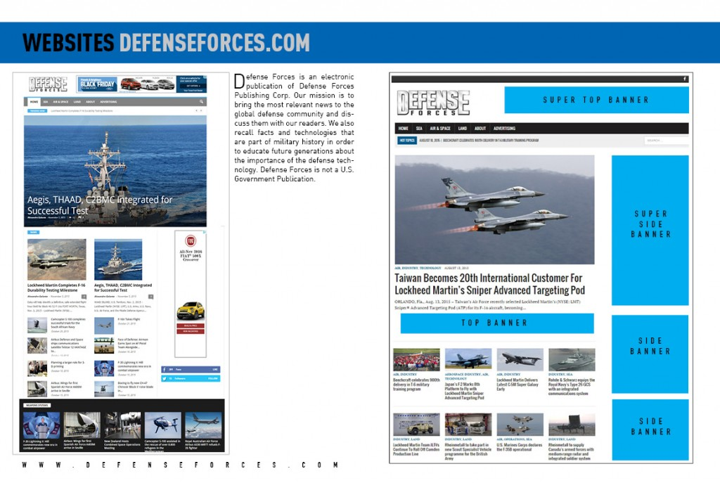 MEDIA KIT 2016 - SITES DEFENSE FORCES4