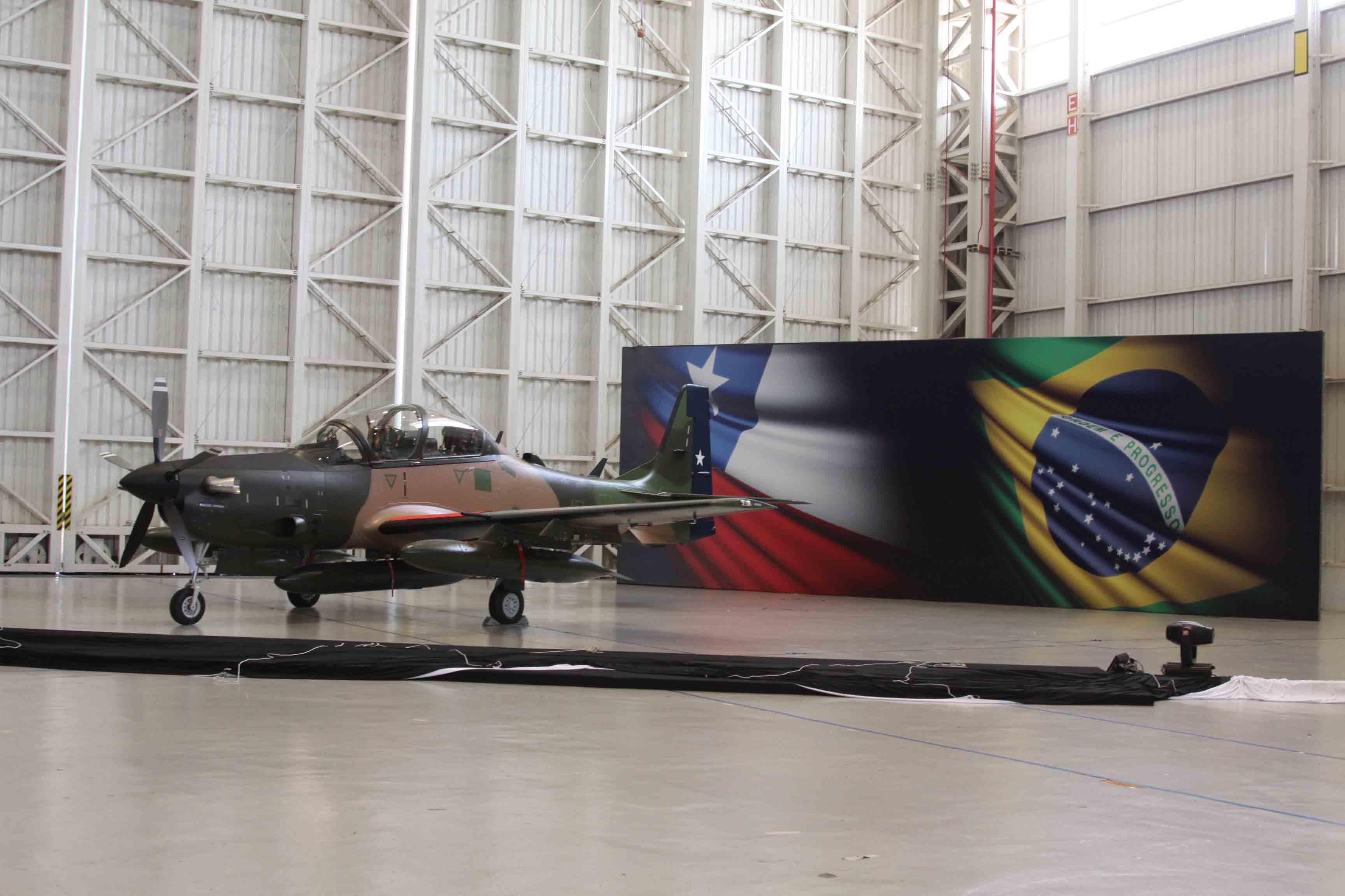 Super-Tucano-Chile-foto Embraer