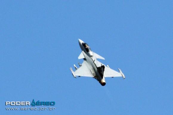 Gripen NG Demo decolando de Malmen - 7 - foto A Galante - Poder Aéreo