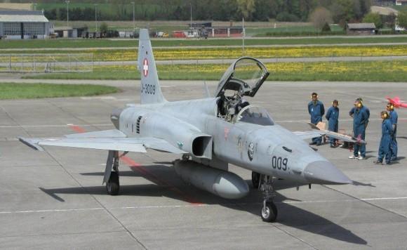 F-5 Suíço - foto Força Aérea Suíça