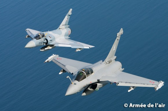Mirage 2000 e Rafale - foto 2 Armee de lair