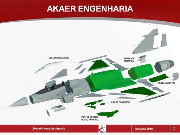 Gripen NG Akaer - 2010 - imagem Akaer