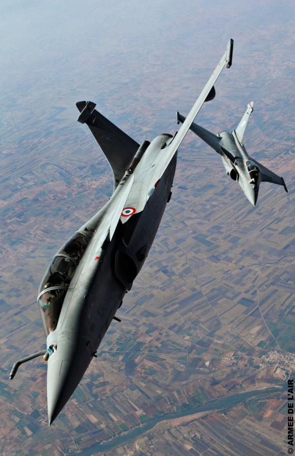 Rafale no Aeroindia - foto Força Aérea Francesa