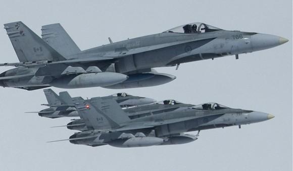 CF-18 - foto Força Aérea Canadense