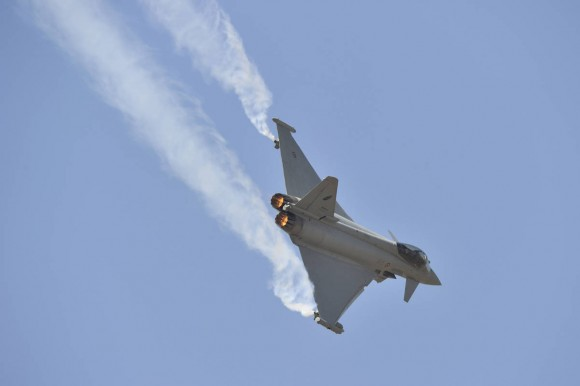Typhoon apresentação Aero India - foto 2 Eurofighter