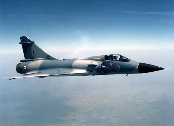Mirage 2000 Força Aérea Indiana - foto via Dassault