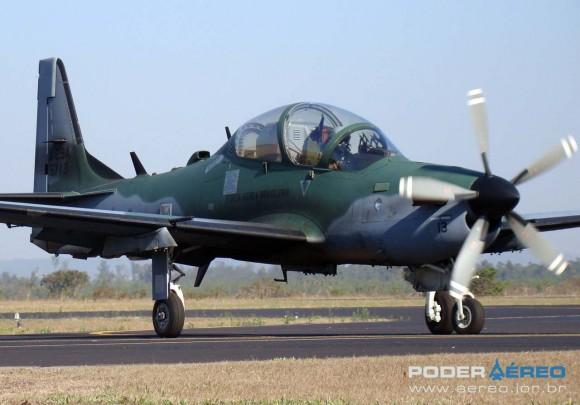 A-29A - Esquadrão Flecha da FAB -  foto Nunão - Poder Aéreo