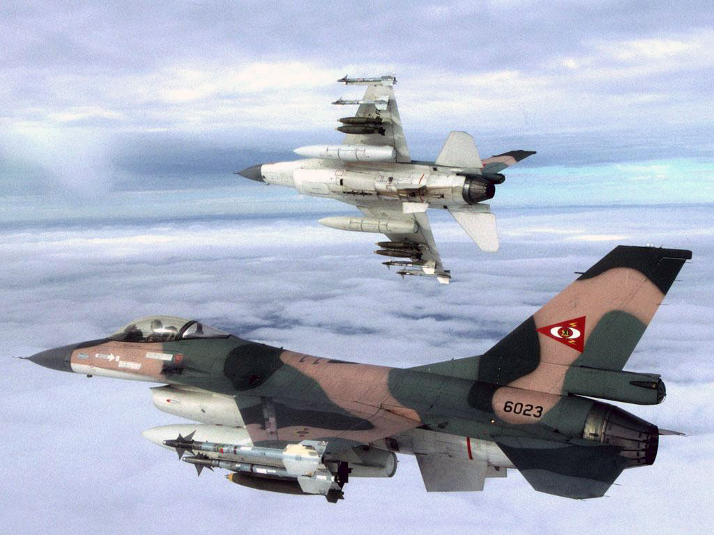 Cazas de Venezuela pueden haber invadido el espacio aéreo brasileño F-16-FAV
