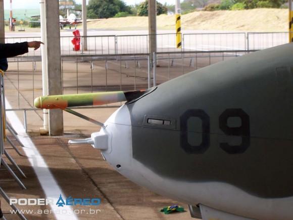 AT-26 4509 do antigo GEEV em Pirassununga em agosto de 2008 - foto Nunão - Poder Aéreo