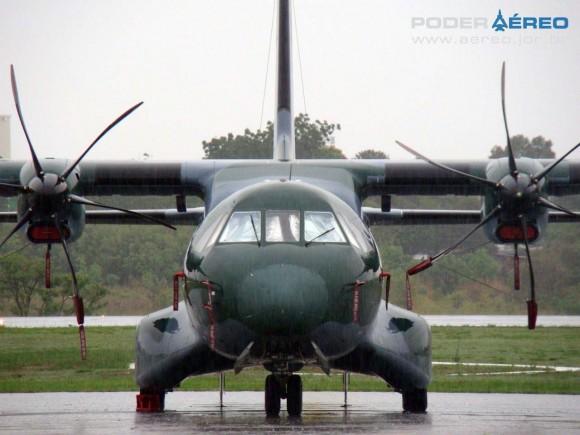C-105 da FAB no Portões Abertos 2011 DCTA - foto Nunão - Poder Aéreo