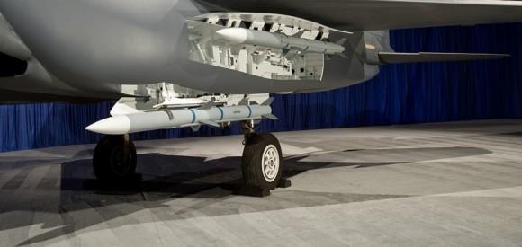 F-15 Silent Eagle - baia de armamentos - foto Boeing