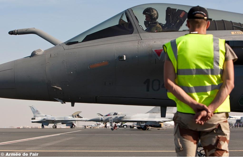 Rafale no Dubai Airshow 2011 - foto 2 Armee de lair