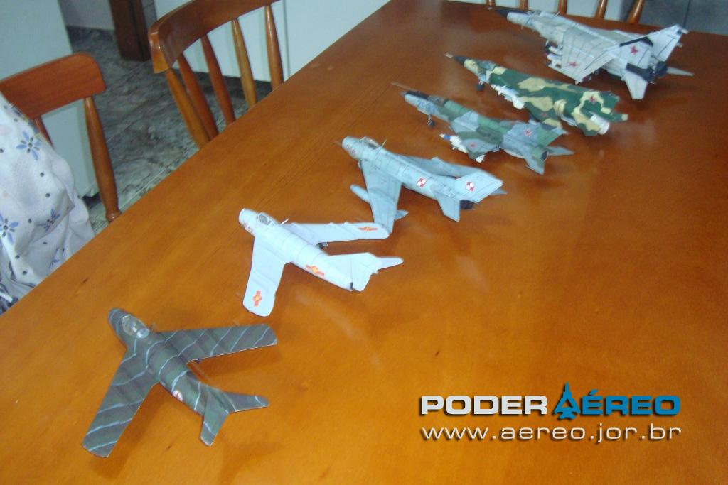Suficiente Miniaturas em papel - Poder Aéreo - Forças Aéreas e Indústria  XZ55