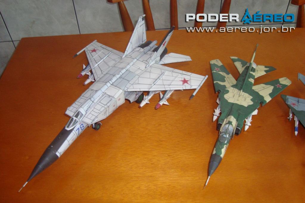 Muito Miniaturas em papel - Poder Aéreo - Forças Aéreas e Indústria  EV16