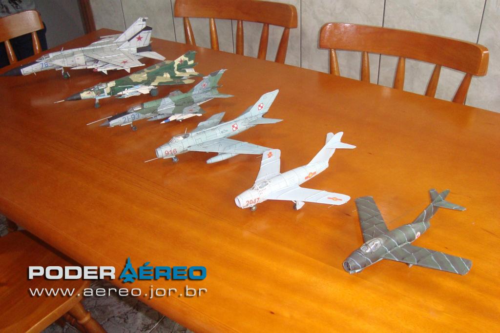 Famosos Miniaturas em papel - Poder Aéreo - Forças Aéreas e Indústria  WV74
