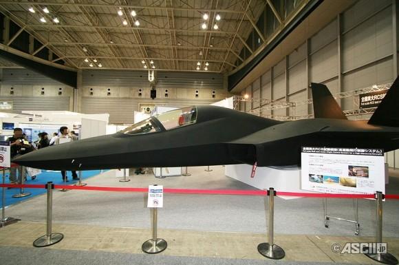 Japón prepara el camino para un Caza de 6° Generación Mockup-do-ADT-X-Shinshin-2-580x385