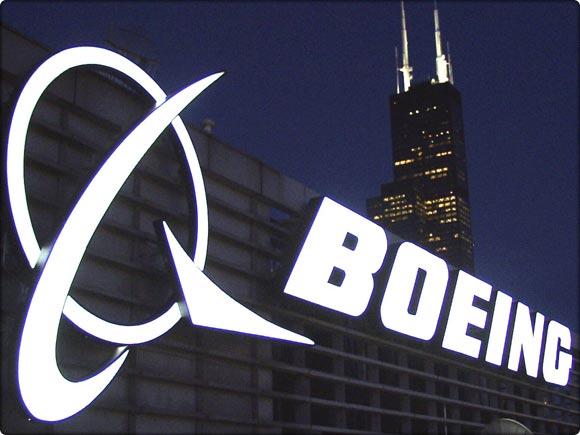 boeing logo noturno