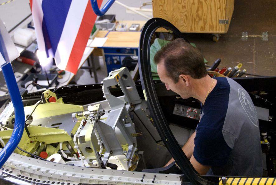 Gripen na linha de produção - foto 2 Saab