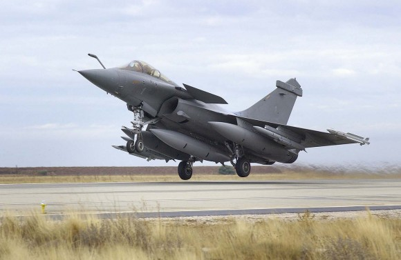 Meteor em Rafale - foto Dassault