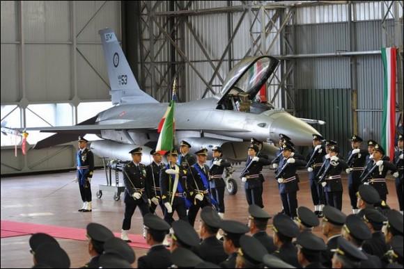 F-16 Peace Cesar - cerimônia de final do programa - foto Aeronautica Militare