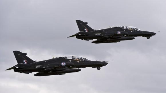 jatos de treinamento avançado Hawk - foto BAE Systems