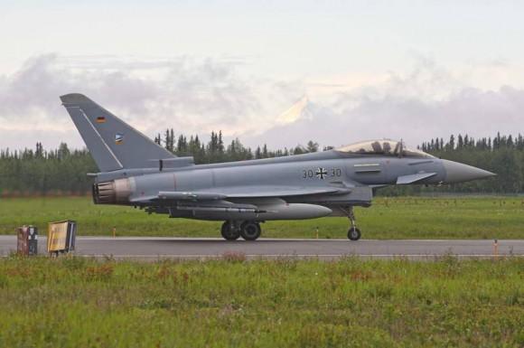 Typhoon Luftwaffe na Red Flag Alaska - foto Eurofighter