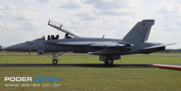 Super Hornet - foto Nunão - Poder Aéreo