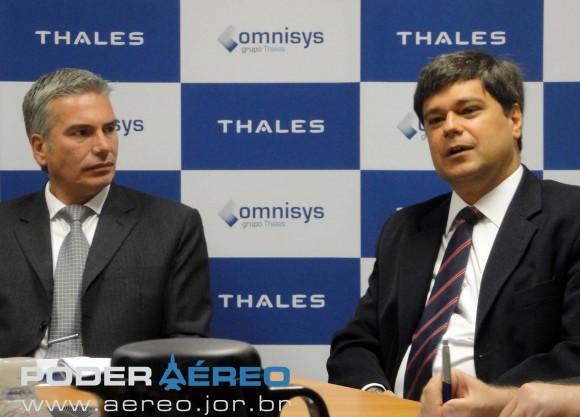 Cesar Kuberek - Edgard Menezes - Thales Omnisys - foto 2 Nunão - Poder Aéreo