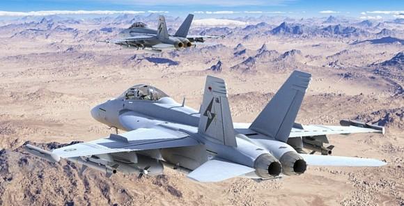 Growler RAAF - concepção - imagem 2 via Min Def da Austrália