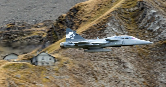Gripen em Axalp tamanho grande - foto 2 Saab