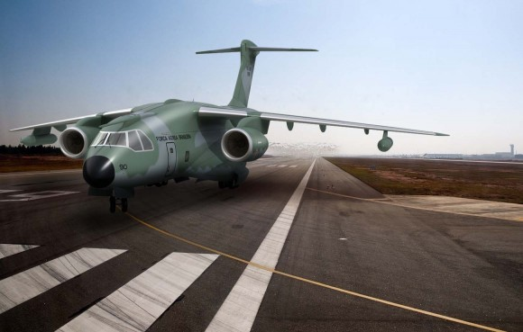 KC-390 - ilustração via FAB