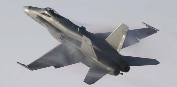 F-18 Hornet - foto Força Aérea Finlandesa