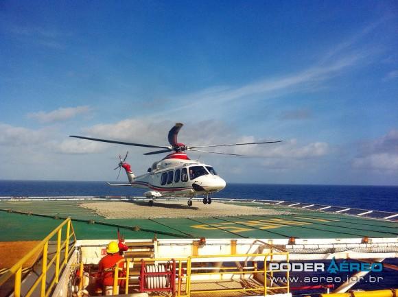 AW139 Omni taxi aereo - dezembro 2012 - foto poder aereo