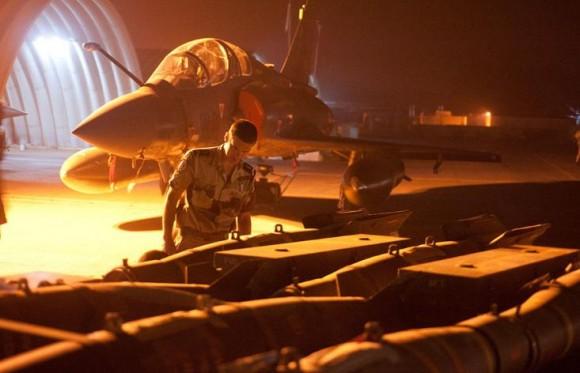 Operação Serval - Mirage 2000D - foto Ministério da Defesa da França