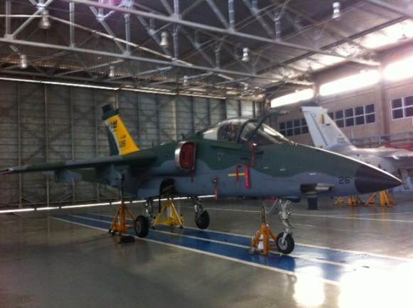 A-1 modernizado pousa em Sta Cruz - foto 2 FAB