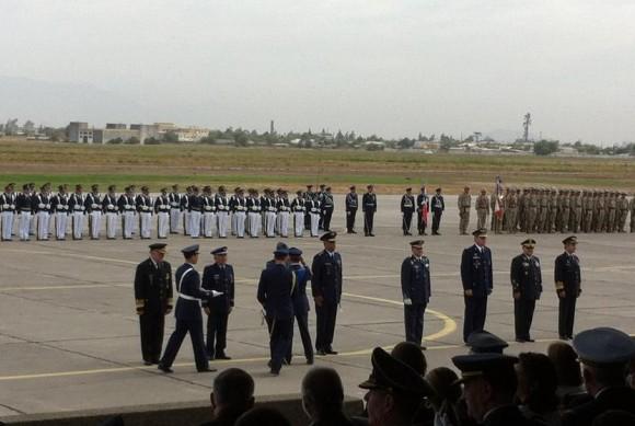 FAB no centenário da aviação militar do Chile - foto via FAB