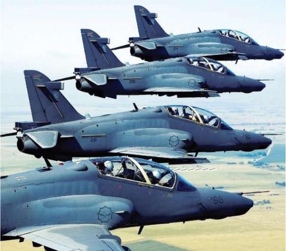 Hawk SAAF - foto Denel