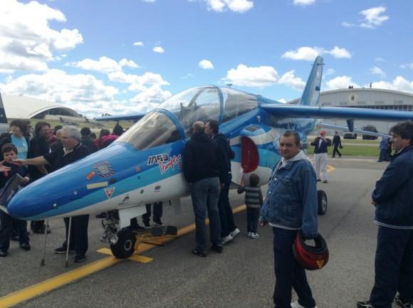 IA-63 PAMPA II no centenário da Av Militar Uruguaia - foto 3 Força Aérea Argentina