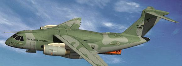 KC-390 - configuração SAR - imagem Embraer