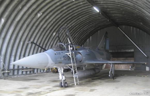 Mirage 2000-5 52-EH do esquadrão Cigognes alcançou 6000 horas de voo - foto 3 Força Aérea Francesa