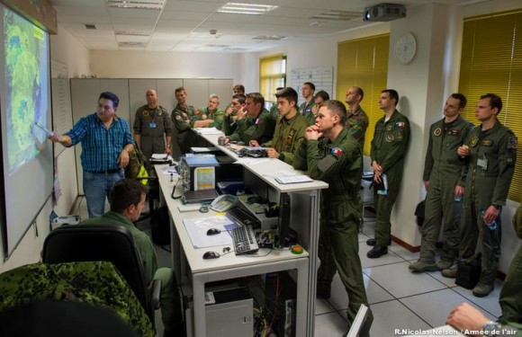 Participantes do TLP em Albacete na Espanha - foto Força Aérea Francesa