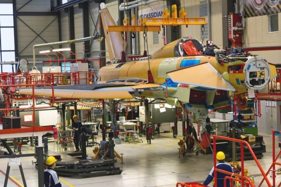 Typhoon IPA-8 - Tranche 3 - foto Eurofighter