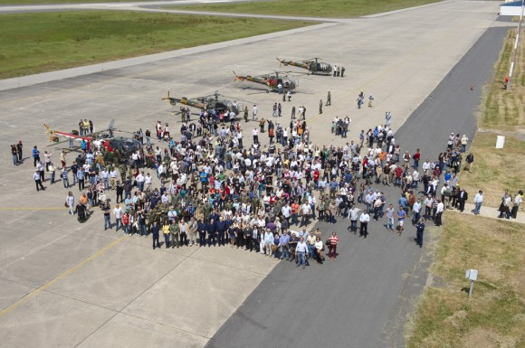 Alouette III 50 anos na FAP - foto Força Aérea Portuguesa