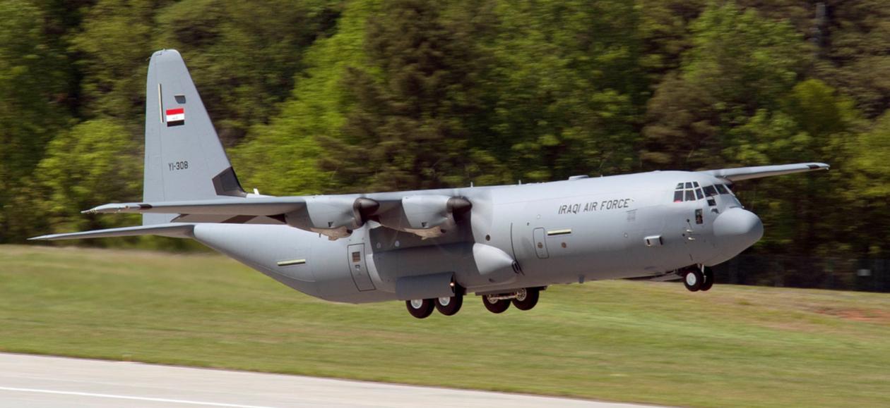 C-130J para o Iraque - foto Lockheed Martin