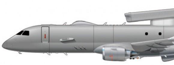 E-190 AEW&C - proa - imagem Embraer
