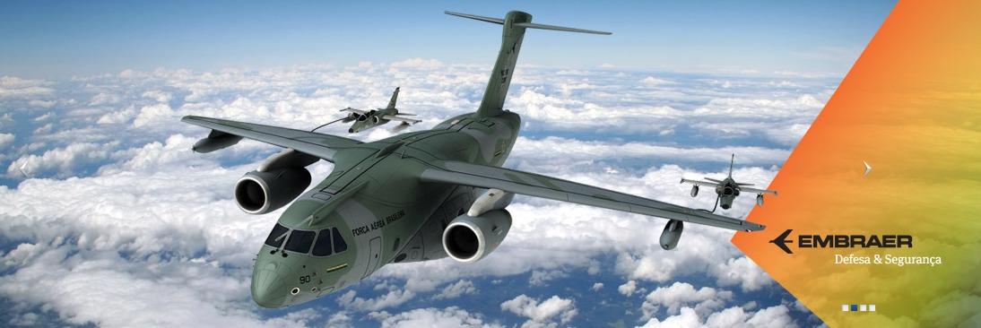 EDS com o KC-390