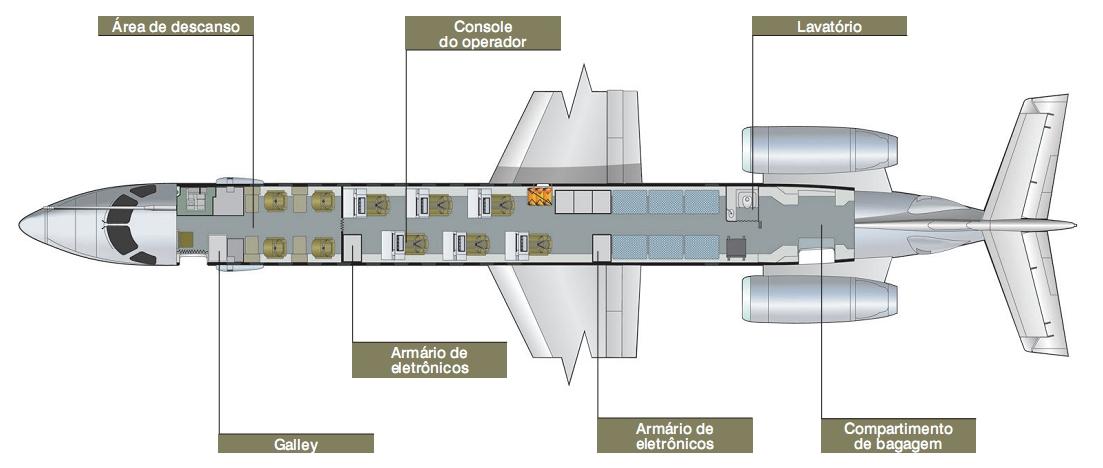 EMB-145 Multi intel interno