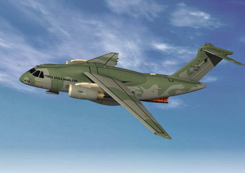 KC390 SAR - imagem Embraer