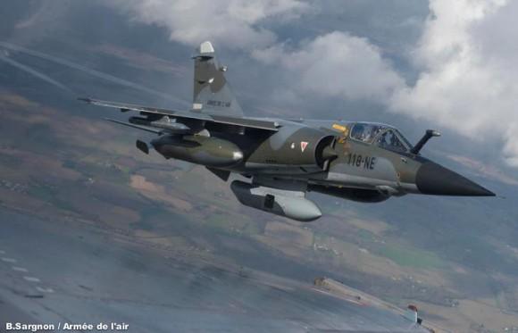 Mirage F1CR - foto Força Aérea Francesa